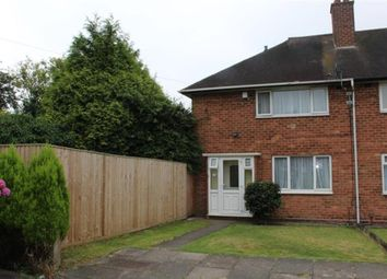 Thumbnail 2 bedroom end terrace house for sale in Hall Hays Road, Birmingham