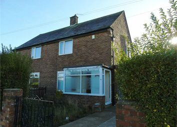 Thumbnail 2 bedroom semi-detached house to rent in Moor Park Road, North Shields, Tyne And Wear