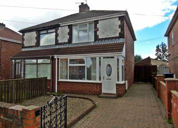 Thumbnail 2 bedroom semi-detached house for sale in Dixon Estate, Shotton Colliery, Durham