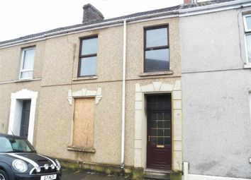 Thumbnail 2 bed terraced house for sale in Railway Terrace, Llanelli