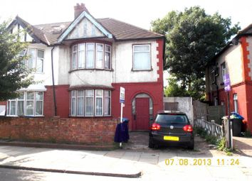 Thumbnail 5 bed semi-detached house to rent in Denzil Road, London