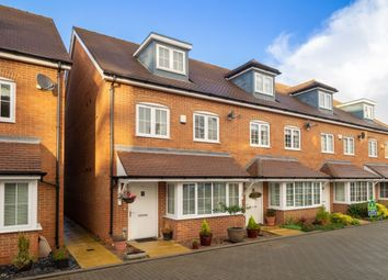 Thumbnail 4 bed terraced house for sale in Damson Way, Carshalton