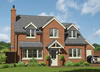 Thumbnail 4 bed detached house for sale in Hill Crest View - Plot 1, Lower Road, Myddle, Shrewsbury, Shropshire
