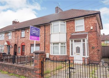 Thumbnail 3 bed end terrace house for sale in East Lancashire Road, Liverpool