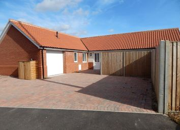 Thumbnail 3 bed bungalow for sale in New Bungalow, Crown Road, Christchurch, Wisbech, Cambridgeshire