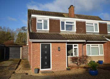 Thumbnail 3 bed semi-detached house for sale in Riverdale, Wrecclesham, Farnham, Surrey