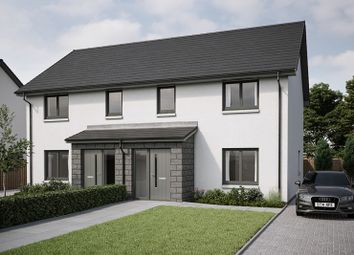 Thumbnail 3 bedroom semi-detached house for sale in Peregrine Drive, Inverurie