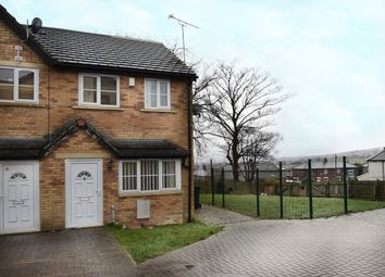 Thumbnail 3 bed mews house for sale in Currerbell Mews, Thornton, Bradford