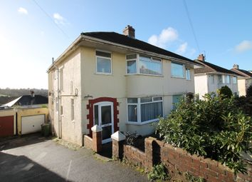 Thumbnail 4 bed semi-detached house for sale in Lynwood Avenue, Plympton, Plymouth