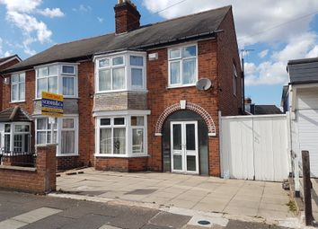 Thumbnail 3 bed semi-detached house for sale in Clumber Road, Evington, Leicester