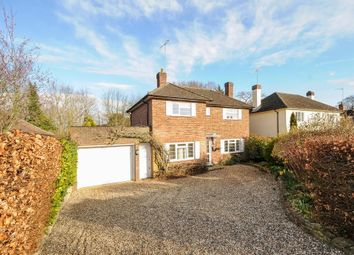 Thumbnail 4 bed detached house to rent in Trotsworth Avenue, Virginia Water