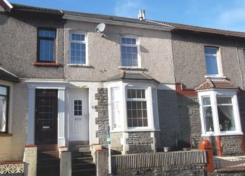 Thumbnail 3 bed terraced house for sale in Gynor Avenue, Porth