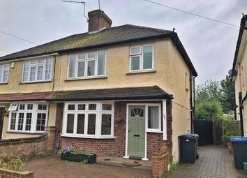 Thumbnail 3 bed semi-detached house to rent in Rydens Way, Old Woking, Woking