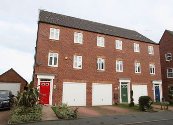 Thumbnail 3 bed terraced house for sale in Snowgoose Way, Newcastle-Under-Lyme