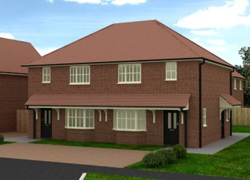 Thumbnail 3 bed semi-detached house for sale in Baddesley Close, North Baddesley, Southampton