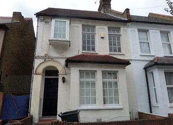 Thumbnail 3 bed end terrace house to rent in Pemdevon Road, Croydon, Surrey