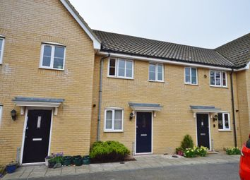 Thumbnail 2 bed terraced house to rent in Heron Road, Saxmundham