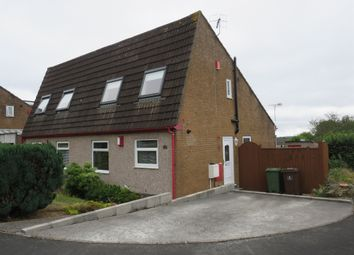Thumbnail 2 bed semi-detached house for sale in Rheola Gardens, Thornbury, Plymouth