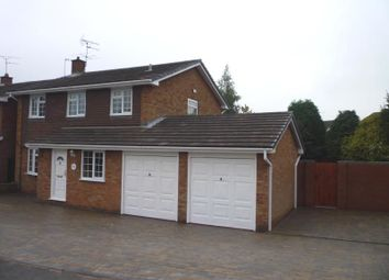 Thumbnail 4 bed detached house to rent in Dunster Grove, Perton, Wolverhampton