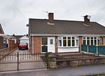 Thumbnail 2 bed semi-detached bungalow for sale in Cranborne Avenue, Baddeley Green, Stoke-On-Trent