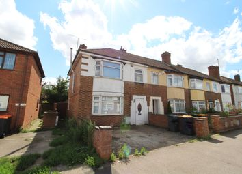 Thumbnail 3 bed end terrace house for sale in Brackley Road, Bedford
