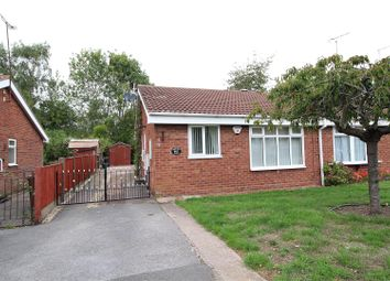 Thumbnail 2 bed bungalow for sale in Stagborough Way, Hednesford, Cannock