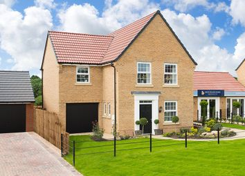 "Thumbnail 3 bed detached house for sale in ""Bradwell"" at Lowfield Road, Anlaby, Hull"