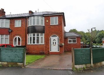 Thumbnail 3 bed semi-detached house for sale in Mayfair Avenue, Whitefield, Manchester