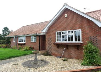 Thumbnail 4 bed detached bungalow to rent in Manor Close, Gamston, Retford