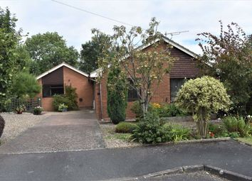 Thumbnail 4 bed detached bungalow for sale in Whitehall Close, Rushwick, Worcester