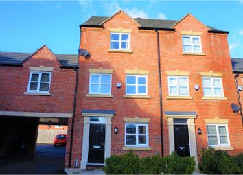 Thumbnail 3 bed town house for sale in Edgewater Place, Warrington
