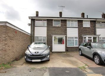 Thumbnail 3 bed end terrace house for sale in Galsworthy Close, Goring By Sea, Worthing, West Sussex