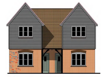 Thumbnail 2 bed semi-detached house for sale in Forge Close, Pyecombe, Brighton, East Sussex