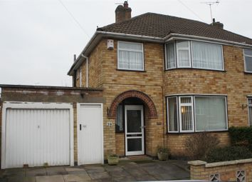 Thumbnail 3 bed semi-detached house for sale in Mossdale Road, Braunstone, Leicester