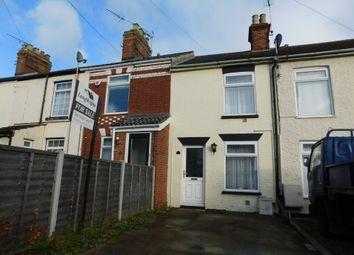 Thumbnail 2 bed terraced house for sale in Kirkley Run, Lowestoft