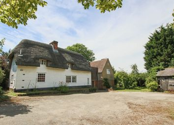 Thumbnail 4 bed farmhouse for sale in Nuthampstead, Royston