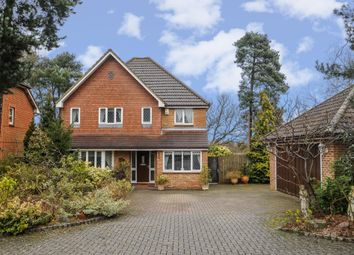 Thumbnail 4 bed detached house for sale in Bagshot, Surrey