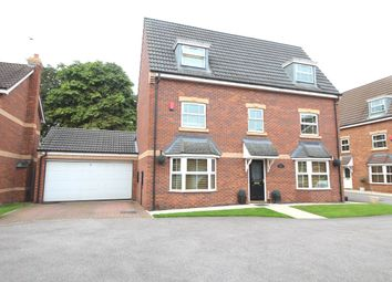 Thumbnail 5 bed detached house for sale in Hayfield Court, Auckley, Doncaster