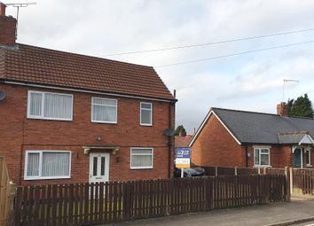 Thumbnail 3 bed semi-detached house for sale in Manor Road, Mansfield Woodhouse, Mansfield