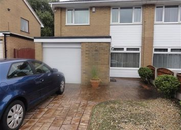 Thumbnail 3 bed semi-detached house to rent in Tankersley Grove, Great Sankey, Warrington