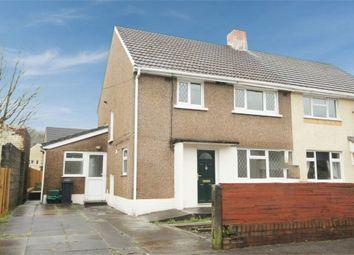 Thumbnail 3 bed semi-detached house for sale in Maes Y Dre, Glynneath, Neath, West Glamorgan