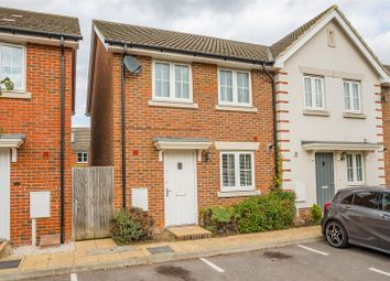 Thumbnail 3 bed end terrace house to rent in Cantium Place, Snodland
