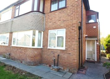 Thumbnail 1 bed flat for sale in Ravenglass Avenue, Maghull, Liverpool