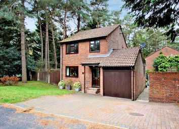Thumbnail 3 bed detached house for sale in Woodpecker Close, Bordon, Hampshire