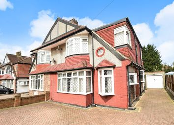 Thumbnail 4 bed semi-detached house for sale in Bradstock Road, Stoneleigh, Epsom