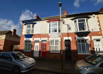 Thumbnail 2 bed terraced house to rent in Sheridan Street, Knighton Fields, Leicester
