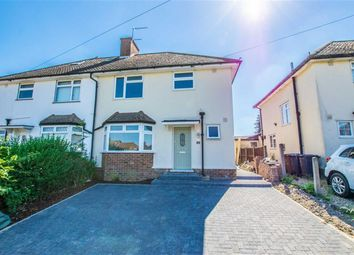 Thumbnail 3 bed semi-detached house for sale in Woodland Road, Hertford Heath, Herts