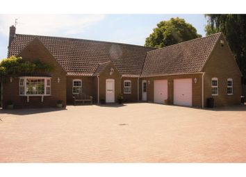 Thumbnail 4 bed detached bungalow for sale in Quadring Road, Donington, Near Spalding