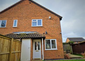 Thumbnail 1 bed town house for sale in St. Columba Way, Syston, Leicester