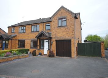 Thumbnail 3 bed semi-detached house to rent in Ridings Close, Market Drayton